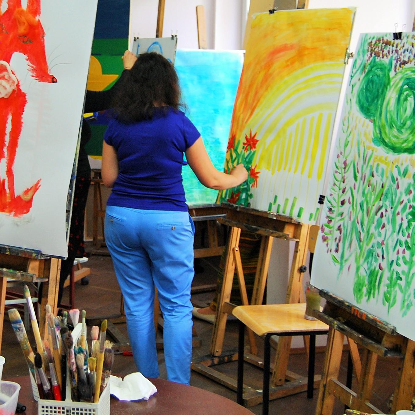 Malarstwo w arteterapii