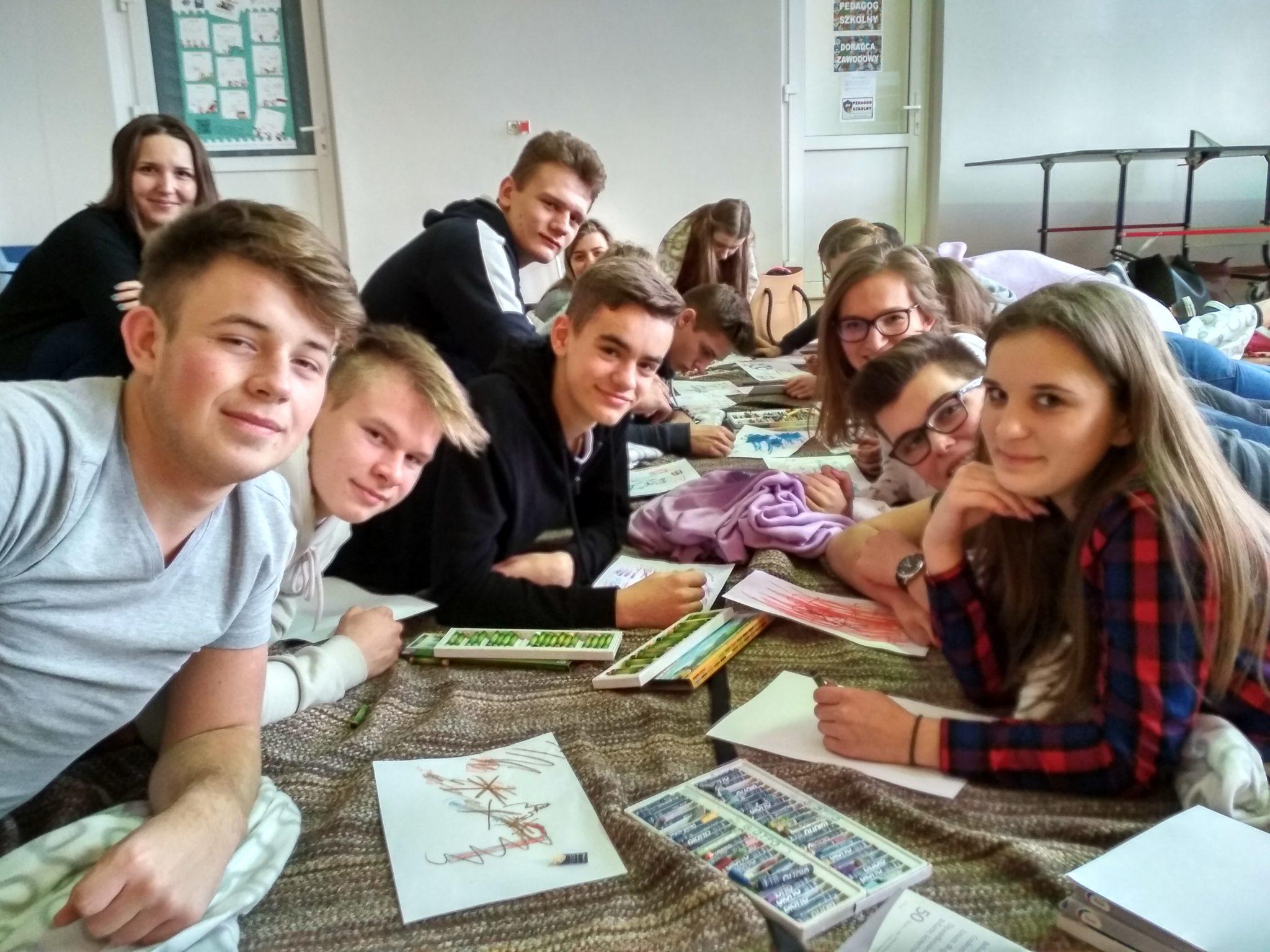 Kreatywne warsztaty dla uczniów – STOP STRESOWI!