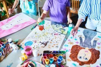 Techniki arteterapii w pracy z dziećmi
